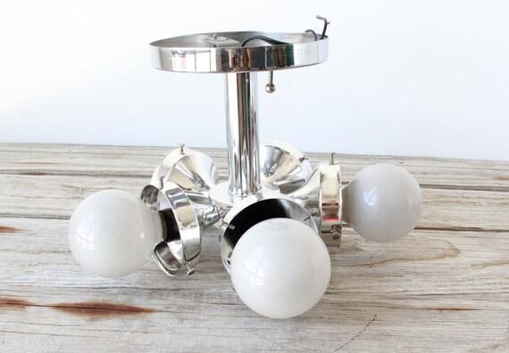r e s e r v ed for 2 Sputnik Chrome Ceiling Light Fixture