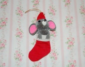 Vintage Mouse Ornament- 2