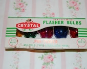 Vintage Crystal Flasher Bulbs