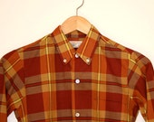 70's Brent Prep collared shirt - size 14- supports animal rescue