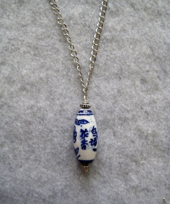 Japanese Blue Necklace