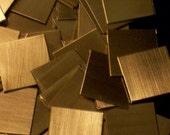 Bronze Squares - 20 Gauge, stamping blanks, metal blanks, bronze plates