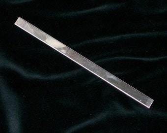Sterling Silver Cuffs - 18 gauge, stamping blanks, metal blanks, cuff blanks, bracelet blanks