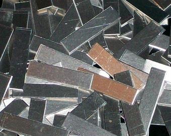 Aluminum Tags - 16 Gauge, stamping blanks, metal blanks, aluminum bar blanks, hypo-allergenic, food safe, Bopper,  aluminum stamping strips