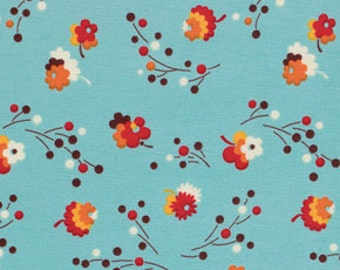 Flea Market Fancy  -  Posie in Turquoise - 1 yard Denyse Schmidt