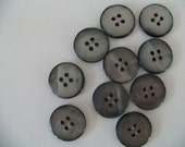 10 medium japanese vintage 18mm buttons - 4 holes - 50% OFF CHRISTMAS SALE