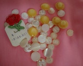 Glass Pearl Buttons