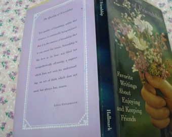 1968 The Treasure of Friendship book
