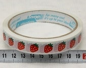 Japanese cute decoration tape - Little Strawberry - FREE SHIPPING if shipped with another item