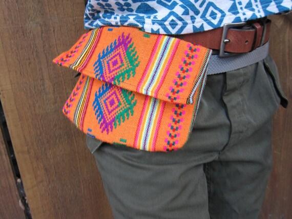 Camboya Textile Hip Bag