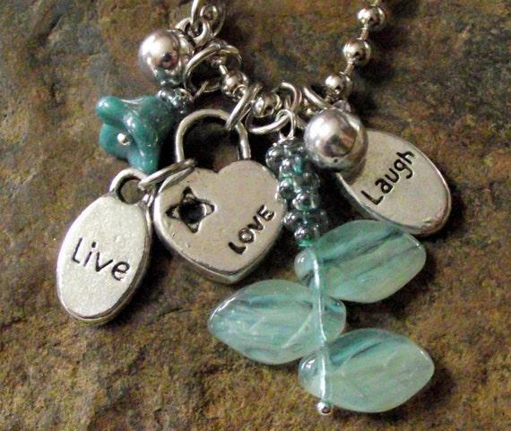 love, live, LAUGH nature