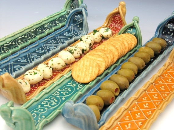 Platter for Crackers - Serving tray