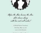 Silhouette Invitation Sample print for crazyswooop