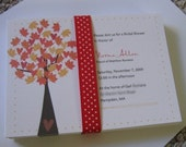 Fall Wedding Invitation set for megs855
