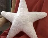 Starfish Pillow -Medium- Recycled Chenille