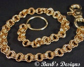 Brass Wallet Chain Chainmaille Nice For Men And Women Bkiers Love It