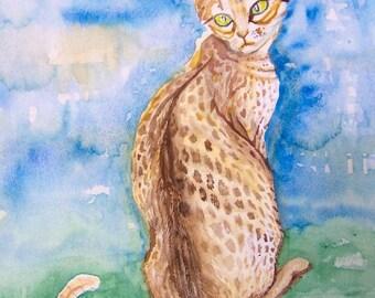 Cat Painting