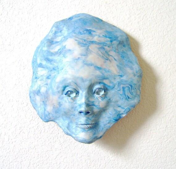 The Sky Face Mask Sculpture