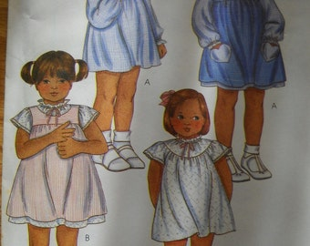 Child Size 5 Uncut 4 Styles Dress Pattern