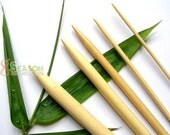 FREE SHIPPING 15 Size New Bamboo Knitting Needles DP 9 inch US 0-15