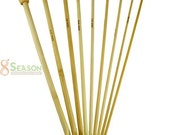 Free Shipping 9Size Bamboo Afghan Crochet Hooks Needles US SIZE 6-15