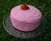 Faux Round Strawberry Cake