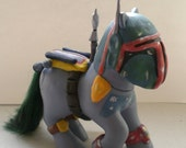 Boba Fett Custom Pony - Reserved for grisaille