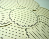 Oval Journaling Labels