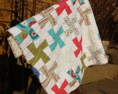 Whirly Gig Baby Quilt