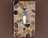 River Rock Mosaic Light Switch Plate Cover 3809