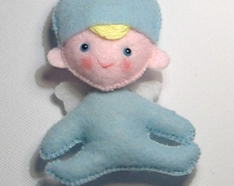 Little Angel Felt Mascot