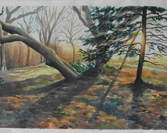 Original Painting - Sunrise