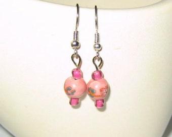 Sweet Dusty Rose Earrings