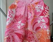 Reversible Cap Sleeve Jumper Dress - Size 3 yrs