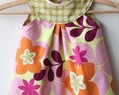 Reversible Cap Sleeve Jumper Dress - Reserved for Bianca