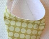 Goodbye Drool Reversible Handkerchief Bib - Reserved for Bianca