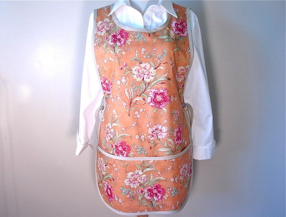 Cinnamon Girl with Passion Flowers Full Craft Apron for all your Fun Decorating Adventures