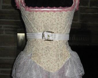 Custom Made Victorian Regency Renaissance  Fully Boned Corset Stay