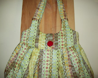 Lifesaver fabric  handbag purse