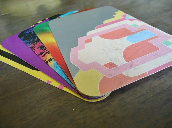 Colorful and Crazy Postcard Bundle