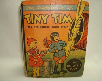 The Adventures of Tiny Tim Vintage Big Little Book