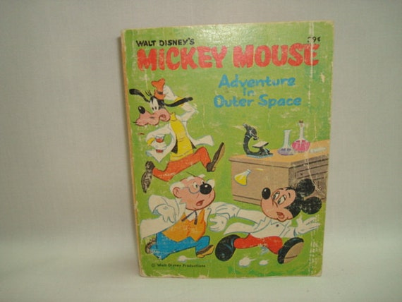 LITTLE BIG BOOK Mickey Mouse Adventures in Outer Space