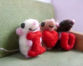 Choose your own baby mice set of three
