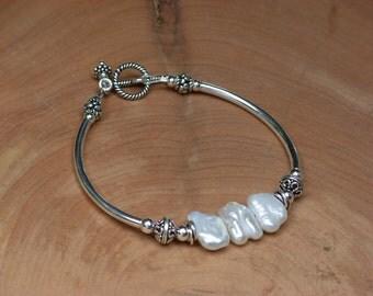 Petal Pearl Bracelet