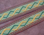 Guitar Strap Handmade Woven Cotton