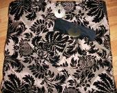 Flocked Velvet Lingerie Bag and Jewerly Bag
