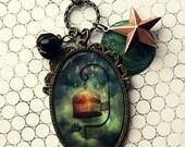 Storm Bound pendant necklace - Wearable Art Meluseena