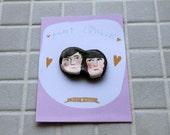 Gift: Pocket Lovebirds- made to order