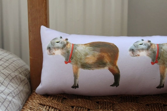 Capybara Pillow: PREORDER