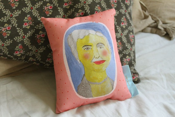 Pillow: Helen Keller